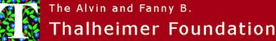 Regional Partner: The Alvin and Fanny B. Thalheimer Foundation